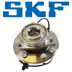 Skf Wheel Bearing And Hub Assembly For 2014-2016 Gmc Sierra 1500 4.3l 5.3l Tf