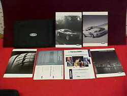 2013 New Mustang Boss 302 Owners Manual Service Guide Kit 13 + Case Navigation
