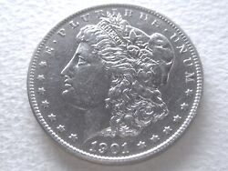 1901 Morgan Dollar, Rare Ddr Vam 3 Shifted Eagle Doubled Tail Feathers 1-a