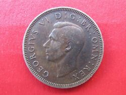 Coin Great Britain One Shilling 1949 King George Vi Fid Def