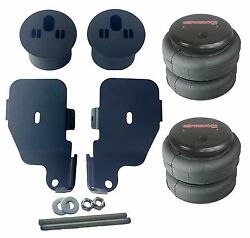 Front 2500 Air Bags Mounting Brackets Air Ride Suspension For 65-70 Chevy Impala