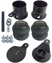 Rear Air Ride Suspension Brackets And 2600 Air Bags For 1958-1964 Chevy Impala