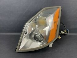 Nice 2004-2005 Cadillac Xlr Lh Front Left Driver Side Hid Xenon Headlight Oem