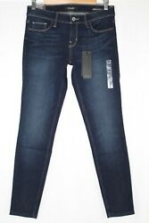Guess Jeans Womenand039s Low-rise Power Skinny Stretch Kent Wash