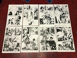 Nightvision 4 Original Art 8 Pages Hypodermic Needle Quinn Faust Sexy Vampire