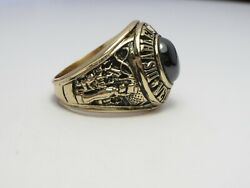 Ring , Solid 10k Gold Ring , Disabled American, Veterans , Size 11