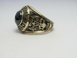 Ring , Solid 10k Gold Ring , Disabled American, Veterans, Size 13.5