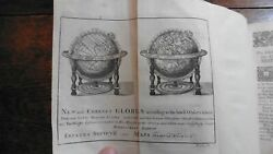 Scientific Instruments Harris On The Globes Orrery Astronomy Fine Leather 1745
