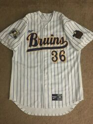 Ucla Bruins Team Issue Game Used Worn Baseball Jersey