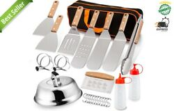 Blackstone Grill Accessories Kit, 26 Pcs Griddle Barbecue Tools Set Bbq Outdoor