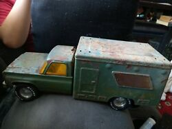 Collectible Vtg Pressed Steel Nylint Toys U.s. Army Ambulance Truck