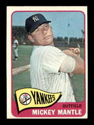 1965 Topps 350 Mickey Mantle  Ex+ X2112689