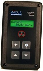 Prm-9000 Geiger Counter And Nuclear Radiation Contamination Detector And 1