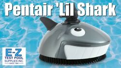 Pentair Lil Shark Above Ground Suction-side Swimming Pool Cleaner