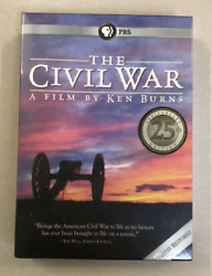 The Civil War A Film Directed By Ken Burns Dvd, 6-disc Free Shipping