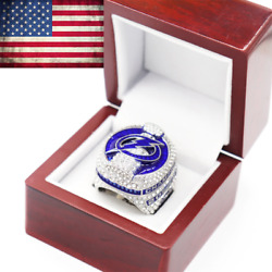 2020-2021 Official Tampa Bay Lightning Championship Ring Stanley Cup Size 8-14