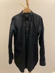 Engineered Garments 19th Bd Shirt Long Sleeve Size M 100s Broad Cloth Made In Us