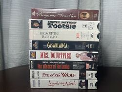 Lot Of New Factory Sealed Vhs Tapes - Movies And More
