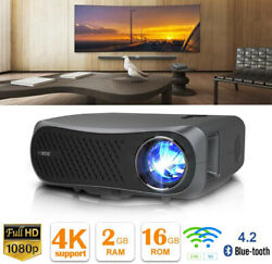 8500lm 5g Wifi Projector 4k Proyector Native 1080p Home Theater Video Movie Bt