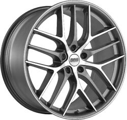 Alloy Wheels 19 Bbs Cc-r Grey Polished Face For Infiniti Q60 Coupe 13-16