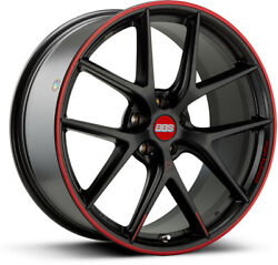 Alloy Wheels 20 Bbs Ci-r Nurburgring Black/red For Audi S7 [4g8] 12-17