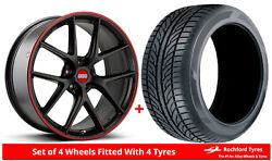 Alloy Wheels And Tyres Wider Rears 19 Bbs Ci-r Nurburgring Bmw 3 Series [f30]