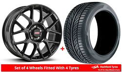 Alloy Wheels And Tyres 18 Bbs Xr For Volvo S60 Cross Country 15-18