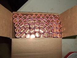 10 Rolls Of 2018p Uncirculated And Unsearched Federal Reserve 500 Pennies New Box