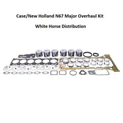 Engine Overhaul Kit Std Fits Ford New Holland T6050 Tractor