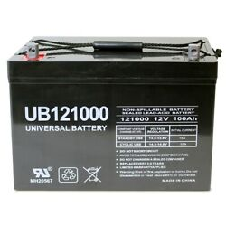 12v 100ah Sla Agm Battery Replacement For Presto Lift Counterweight Stackers