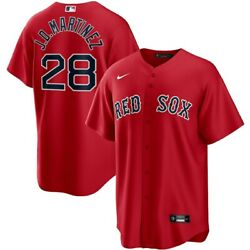 Boston Red Sox J.d. Martinez 28 Nike Menand039s Official Mlb Player Jersey