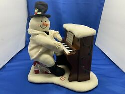 Snowman Playing Piano 2005 Hallmark Jingle Pals For Display Only No Music