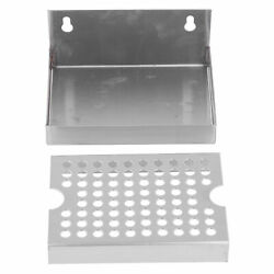 Wall-mount Beer Drip Tray Stainless Steel Drip Tray For Homebrewed Kegging Draft