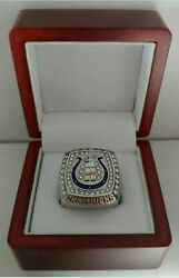 Peyton Manning - 2006 Indianapolis Colts Super Bowl Silver Color Ring With Box