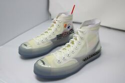 Converse Chuck Taylor All-star Vulcanized Off-white Sample Shoes Size 9