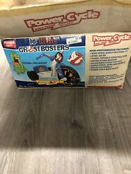Vintage The Real Ghostbusters Rare Big Wheel Power Cycle Never Used See Pics
