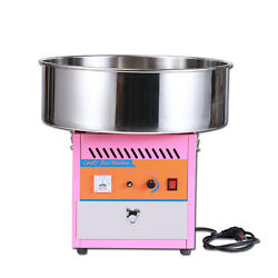 New Electric Commercial Cotton Sugar Maker Candy Floss Making Machine 220v