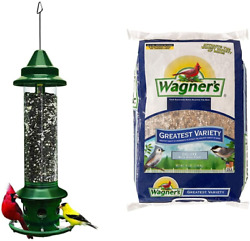 Squirrel Buster Plus Squirrel-proof Bird Feeder W/cardinal Ring And 6...