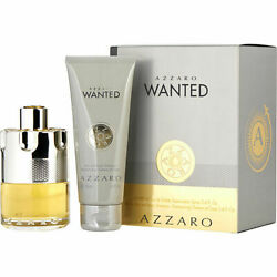 Azzaro Wanted Edt Spray 3.4 Oz And Hair And Body Shampoo 3.4 Oz Travel Offer