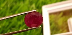Mozambique Ruby Blood Red 4.05 Cts 100 Natural Ruby No-heat Ruby Certified