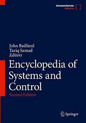 Encyclopedia Of Systems And Control English Hardcover Book