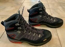 Asolo Avalon Hiking Boots - Menand039s 10.5 - Gray / Grapeseed / Red- New
