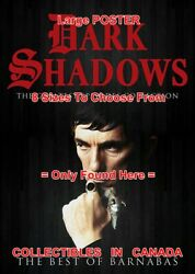 Dark Shadows 2012 Best Of Barnabas Ring Cane = Poster Cover Dvd 8 Sizes 17-3 Ft