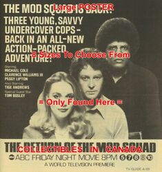 Return Of The Mod Squad 1979 Tv Guide Undercover Cops =poster 10 Sizes 17-3.5ft