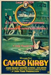 Cameo Kirby 1923 Riverboat Race Silent = Poster Very Large 3 1/2 X 5 Feet Long