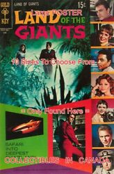 Land Of The Giants 1969 4 Tv Show Jungle = Poster Comic Book 10 Sizes 18-5 Ft