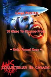 American Horror Story 2019 1984 Knife Woman Screams = Poster 10 Sizes 17-4.5 Ft