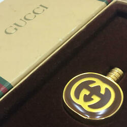 Old Atomizer Perfume Bottle Bottle Vintage Gold Color With Special Case