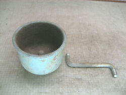 Vintage Delta 7 Bench Grinder Water Quench Cup Pot Tray 5 Original Old Part