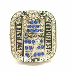 2006 Tampa Bay Lightning Stanley Cup Silver Plated Championship Ring